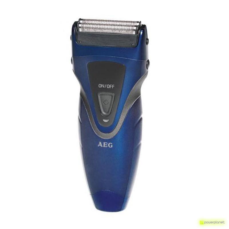 AEG Afeitadora Azul