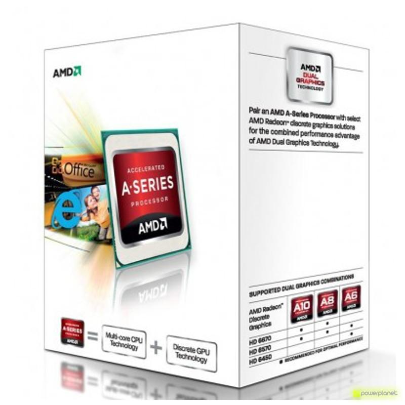 Procesador AMD A series A4-5300