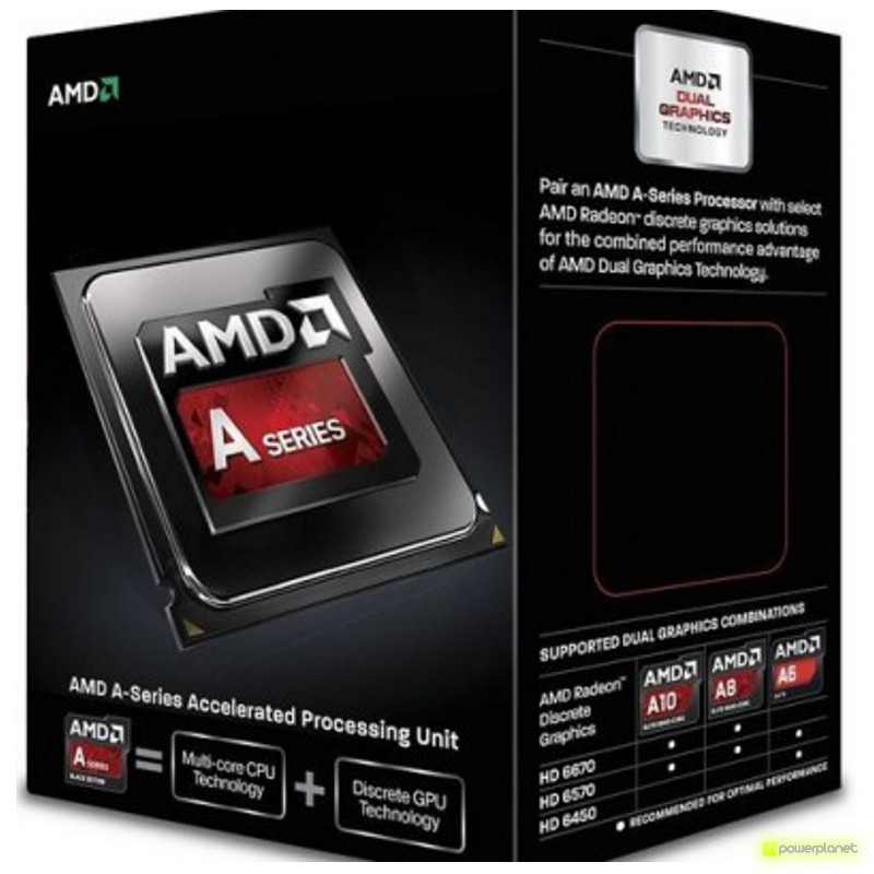 Procesador AMD A series A6-6400K