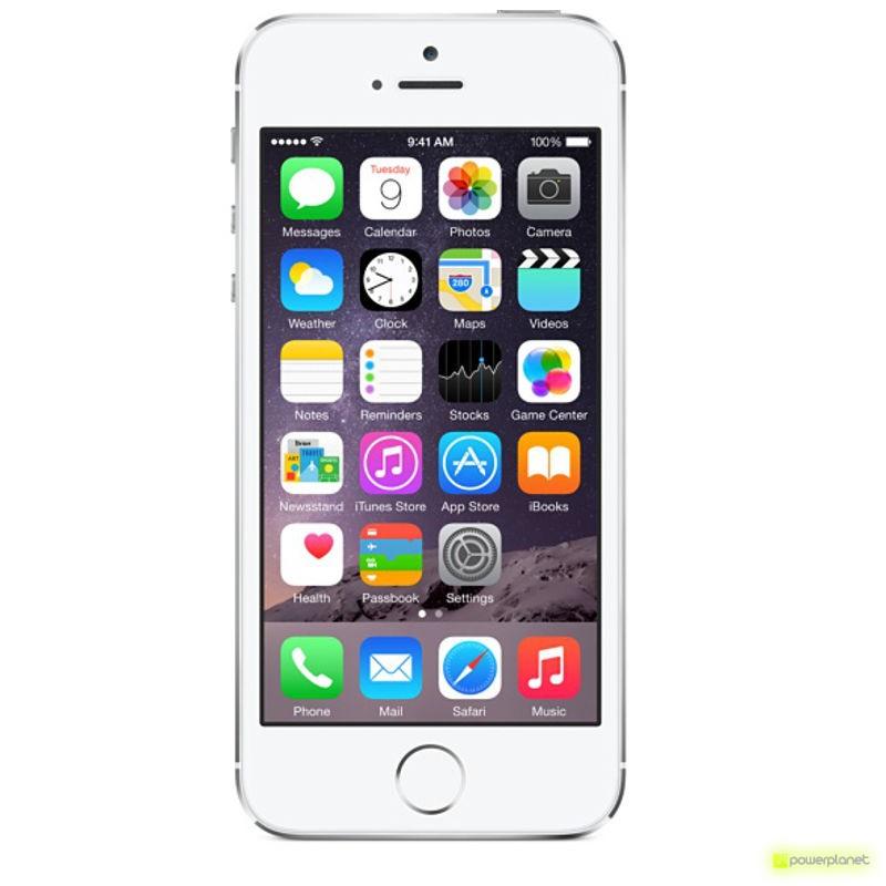 iPhone 5S 32GB Plata Como Nuevo