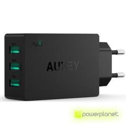 AUKEY PA-U35 Carregador de 3 Portas USB / 6A - Item1