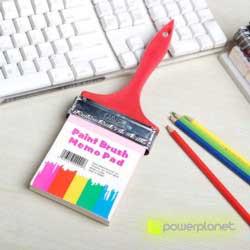 Paint brush memo pad - Item3