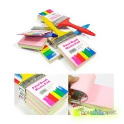 Paint brush memo pad - Item4