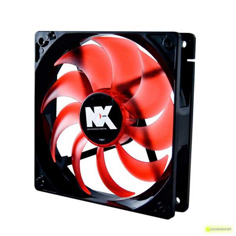 Ventilador caja NOX Serie NX 14 cm Rojo