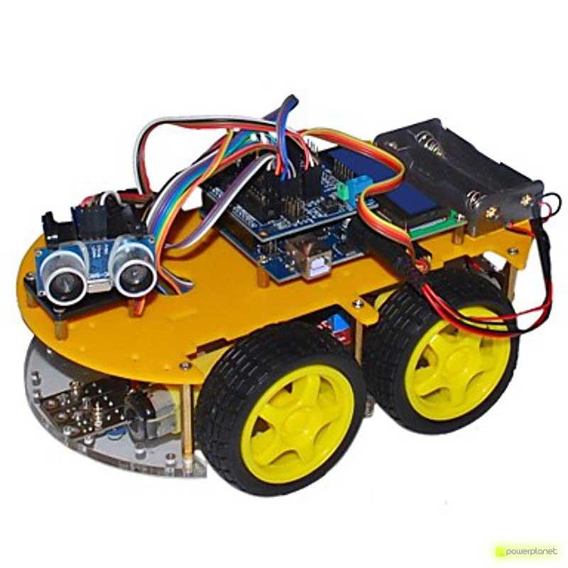 Carro Controlado Por Bluetooth com Arduino