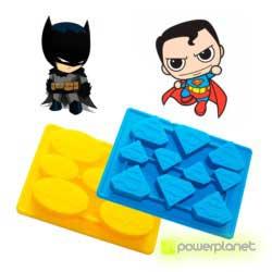 Bandeja de gelo Super herois - Item2
