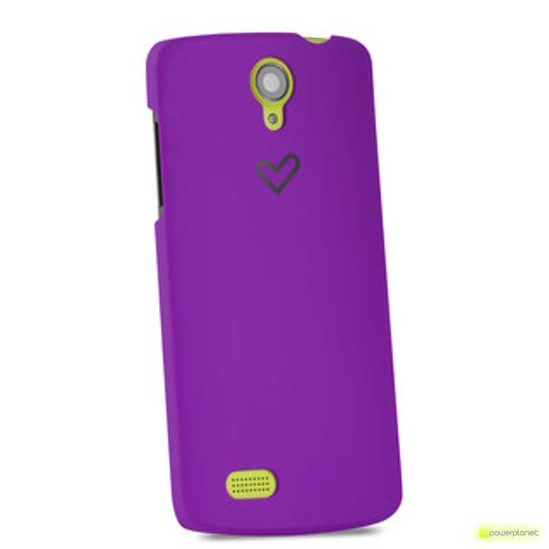 Case Energy Phone Max Violeta