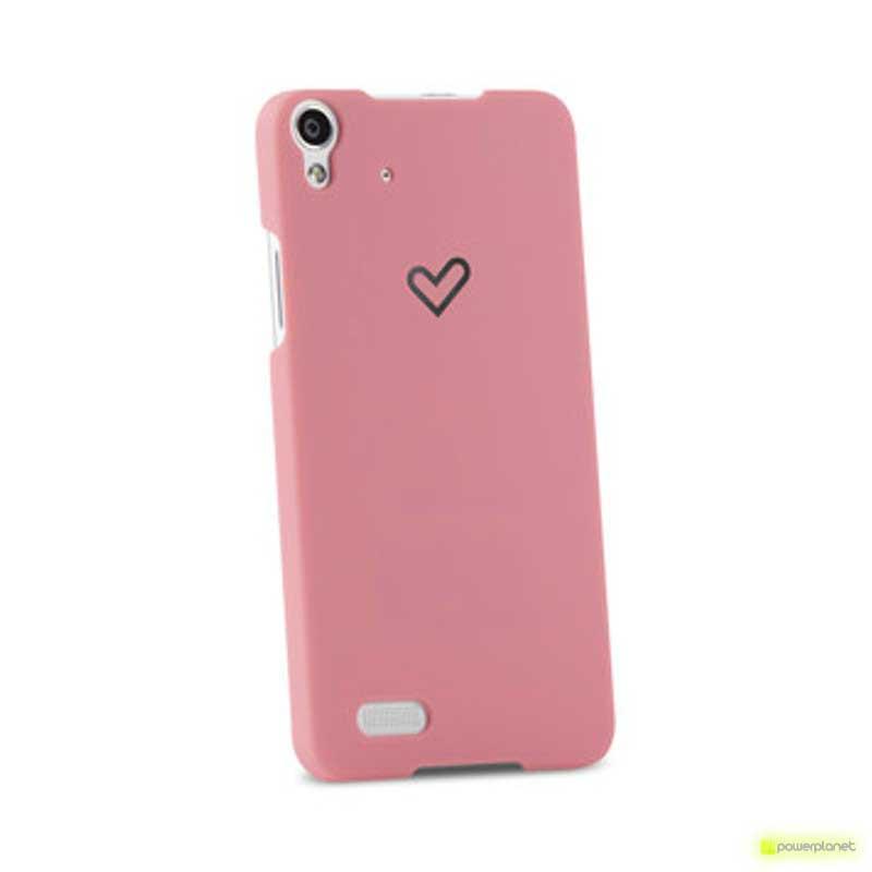 Funda Energy Phone Pro HD Rosa