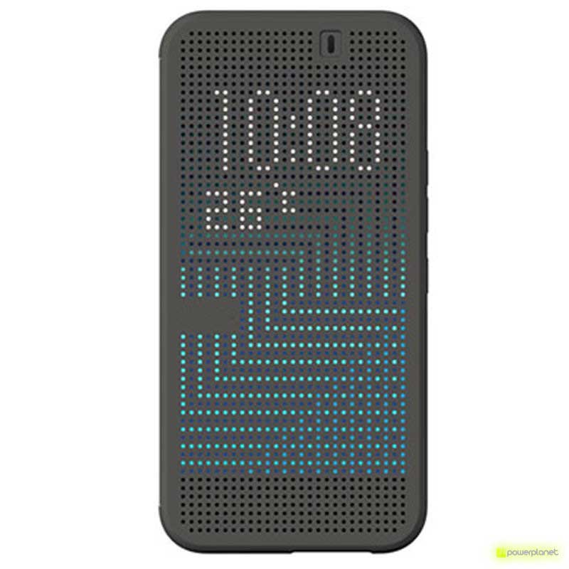 Capa com Ecrã Pixel HTC M9