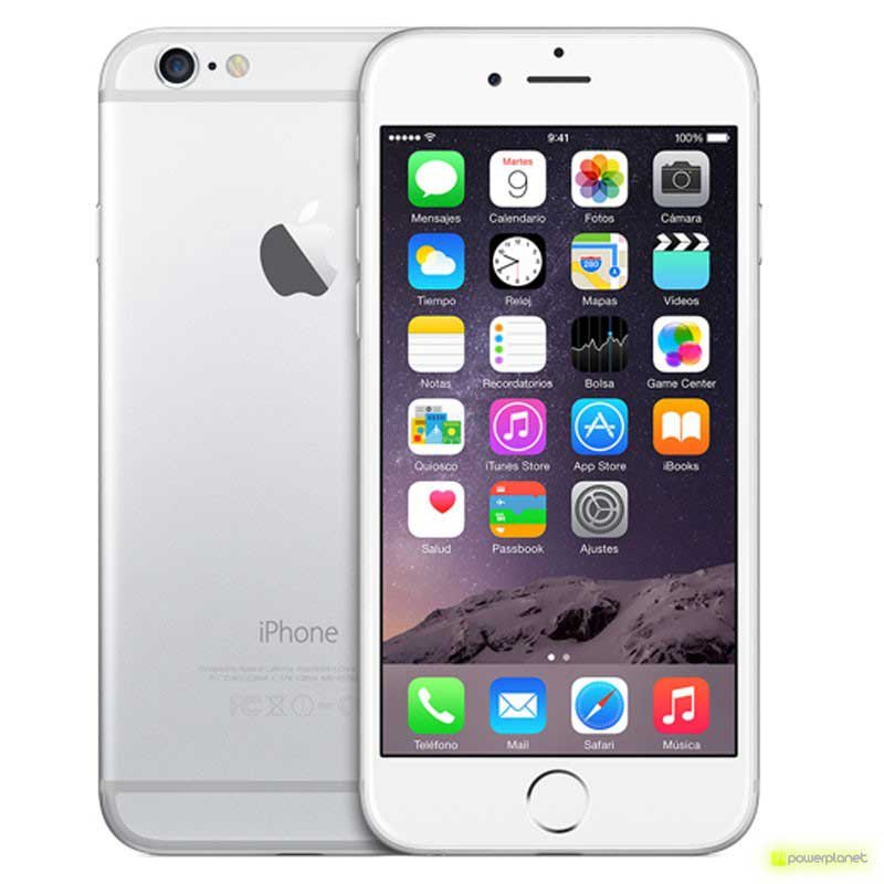 iPhone 6 64GB Plata Como Nuevo