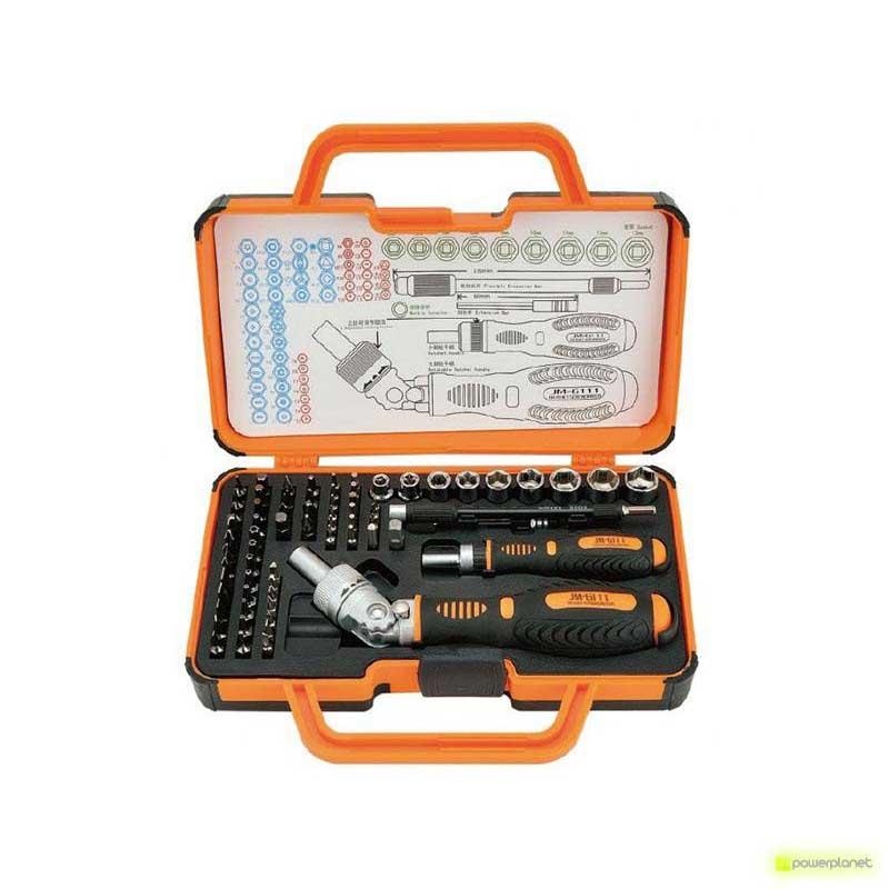 Jakemy JM-6111 Screwdriver & Ratchet Set