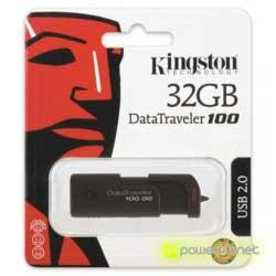 Kingston Technology DataTraveler 32GB DataTraveler 100 G2 - Ítem3