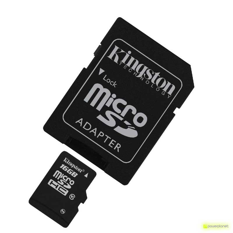 Kingston Technology 16GB microSDHC