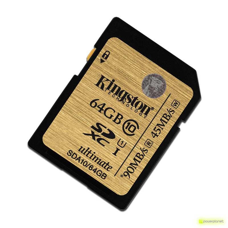 Kingston Technology 64GB SDXC Ultimate UHS-I Card