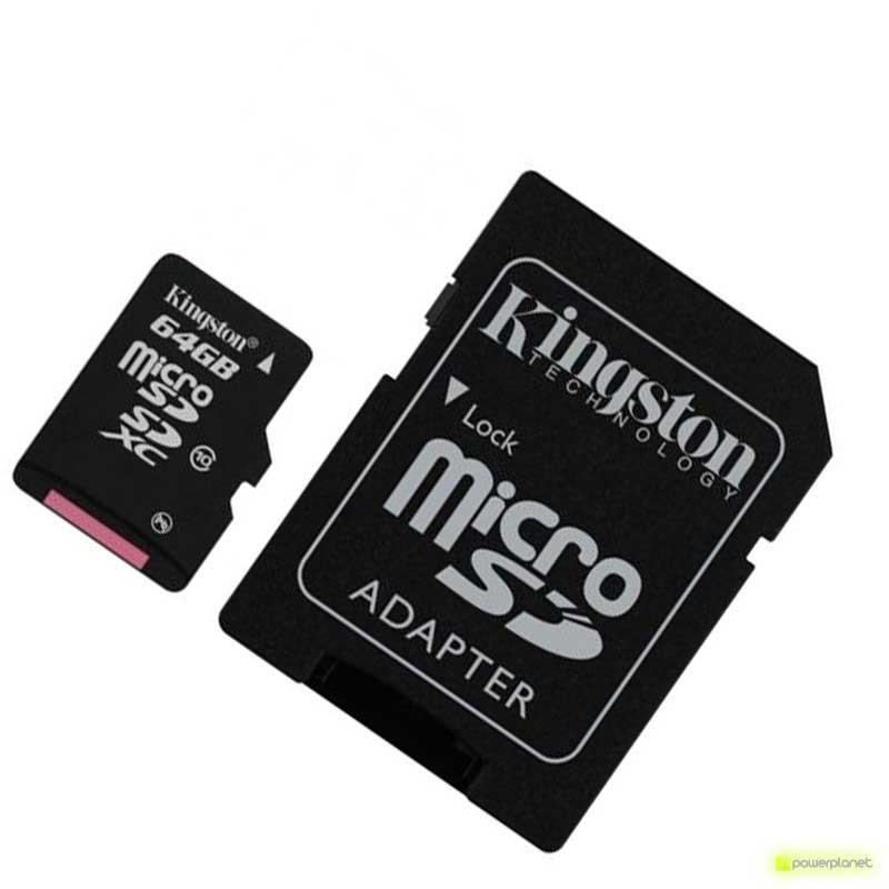 Tarjeta Memoria Kingston Technology microSDXC 64GB