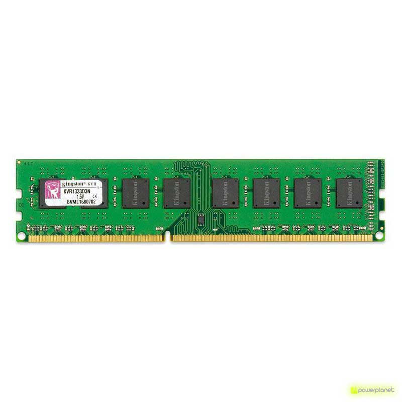 Memoria RAM Kingston Technology ValueRAM 8GB DDR3 1333MHz