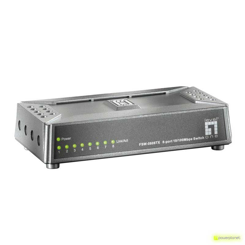 LevelOne 5 Port Mini Fast Ethernet Switch