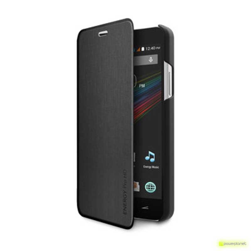 Caso Tipo Livro Energy Phone Pro HD