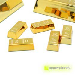 Mini gold bullion magnet - Item1