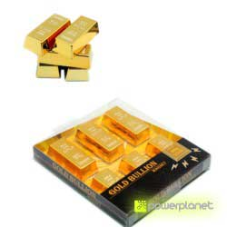 Mini gold bullion magnet - Item2