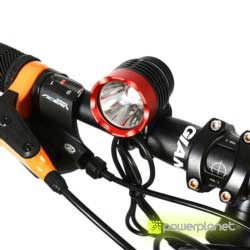 Front light 1200 lm Cree XM-L T6 Rockbros - Item2