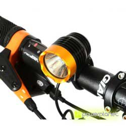 Front light 1200 lm Cree XM-L T6 Rockbros - Item4