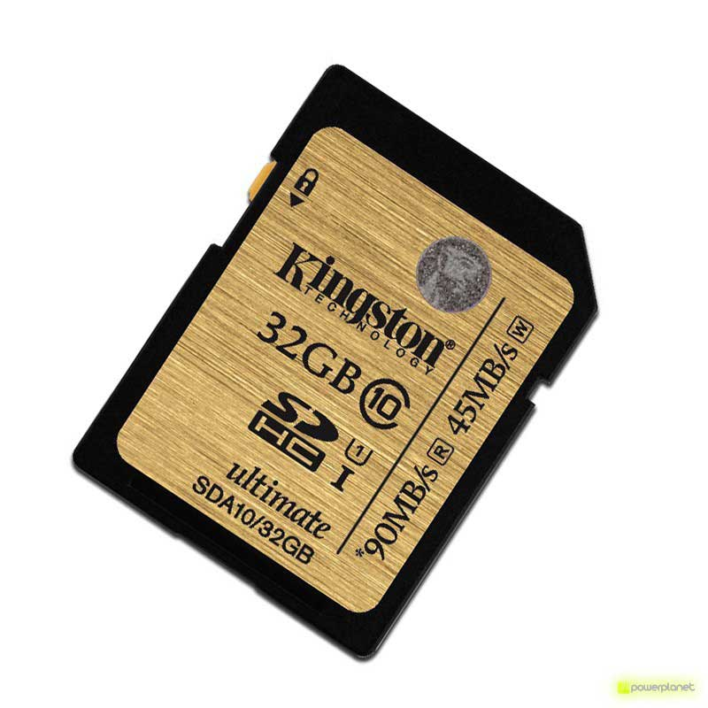 Tarjeta Memoria Kingston Technology 32GB SDHC Ultimate UHS-I