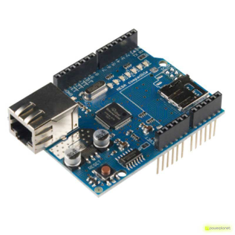 Ethernet module Shield W5100 with Micro-SD slot for Arduino