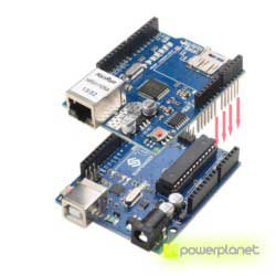 Ethernet module Shield W5100 with Micro-SD slot for Arduino - Item5