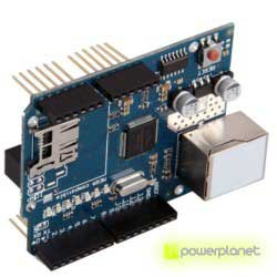 Ethernet module Shield W5100 with Micro-SD slot for Arduino - Item2