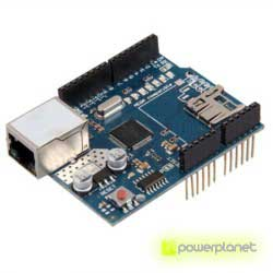 Ethernet module Shield W5100 with Micro-SD slot for Arduino - Item4