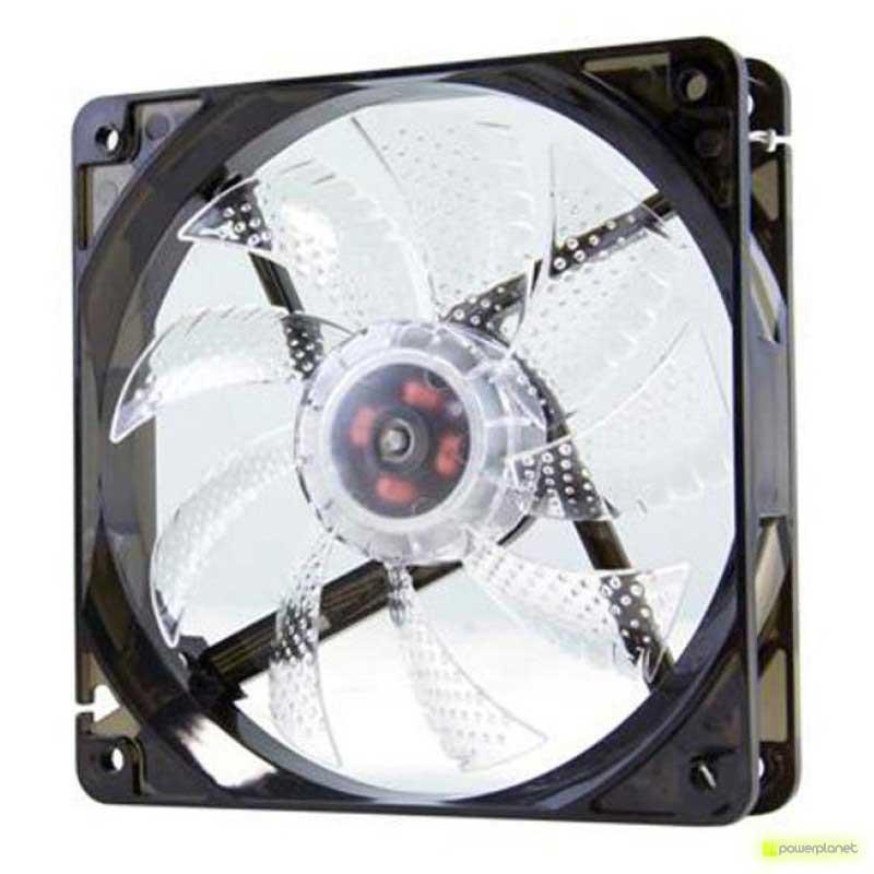Ventilador Caja NOX CoolFan 12cm LED Blanco