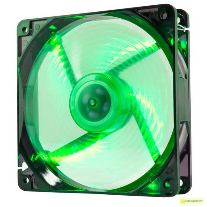 Ventilador Caja NOX CoolFan 12cm LED Verde