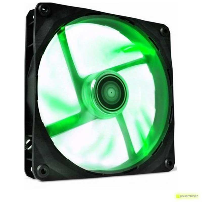 Ventilador caja NZXT FZ 140mm 83.6 CFM LED Verde