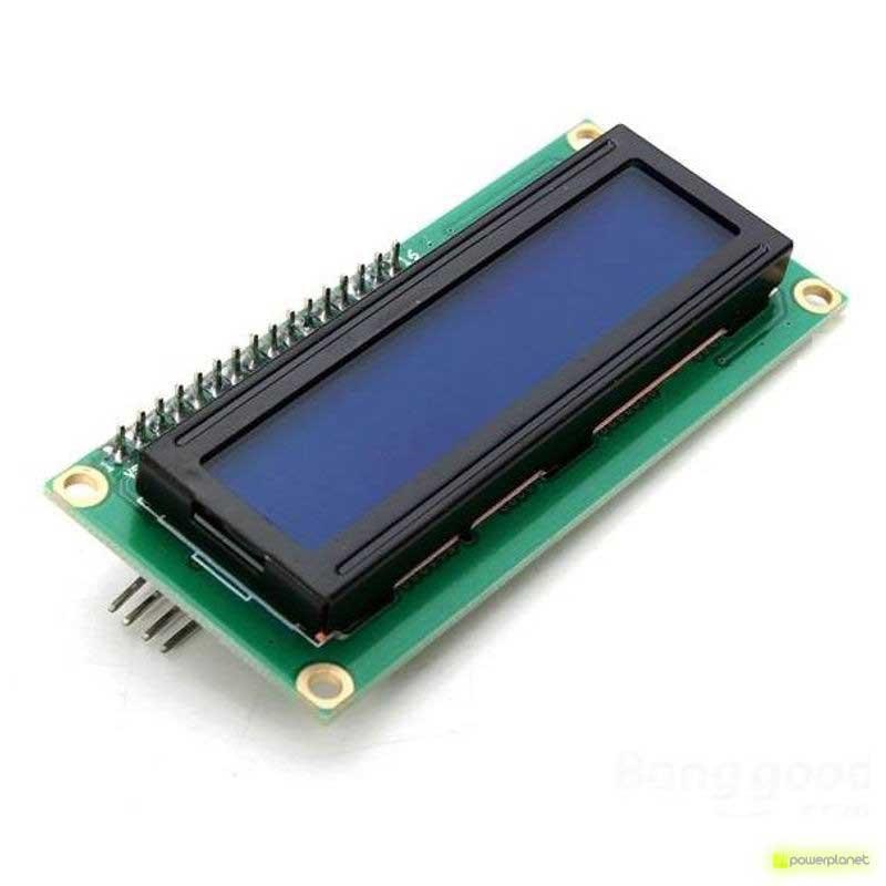 Ecrã LCD 1602 com retroiluminação para Arduino