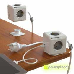 PowerCube Extended USB 4 tomas + 2 puertos USB + Cable 1.5m - Ítem1