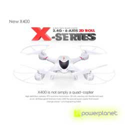 Quadcopter MJX X400 - Item1