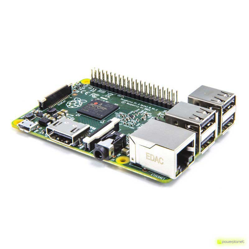Raspberry Pi 2 Modelo B ARM7 Quad Core CPU 1GB