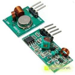 Módulo inalámbrico RF 433MHz Emisor - Receptor - Ítem1