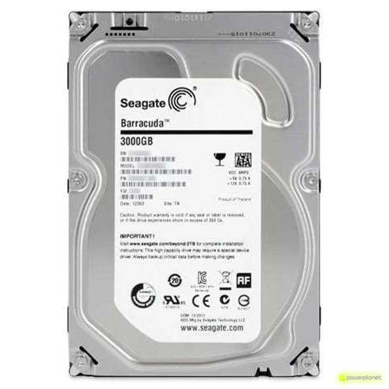 Disco Rigido Seagate Barracuda 3TB SATA3 3.5
