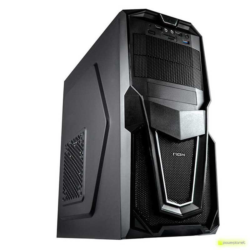 Semitorre NOX Raven Negra USB 3.0 Lector SD