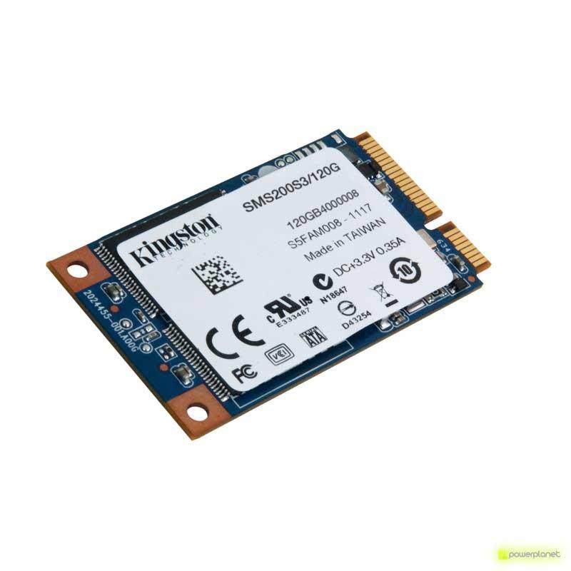DISCO DURO SSD Kingston Technology SSDNow mS200 120GB mSATA