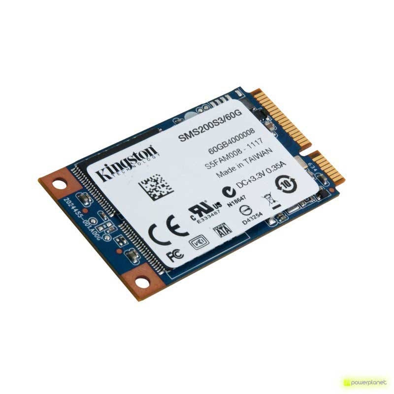 DISCO DURO SSD Kingston SSDNow mS200 60GB mSATA