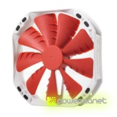 Ventilador Caja PHANTEKS TS 140mm Rojo 19dBA