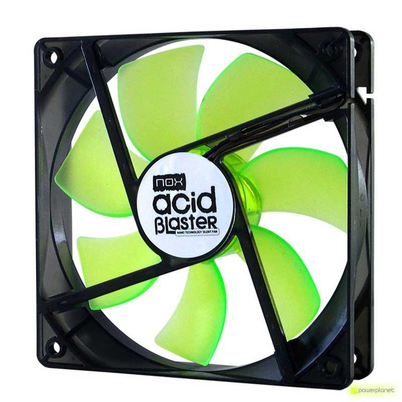 Ventilador caja NOX Acid Blaster 80 mm Rev.2