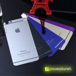 Protector de Pantalla y Trasera Cristal Templado iPhone 6 Colores - Ítem2