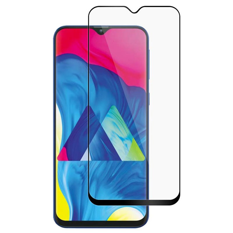 Samsung Galaxy M10 Full Screen 3D Tempered Glass Screen Protector