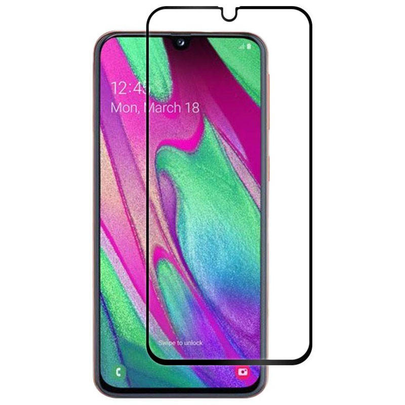 Samsung Galaxy A40 Full Screen 3D Tempered Glass Screen Protector