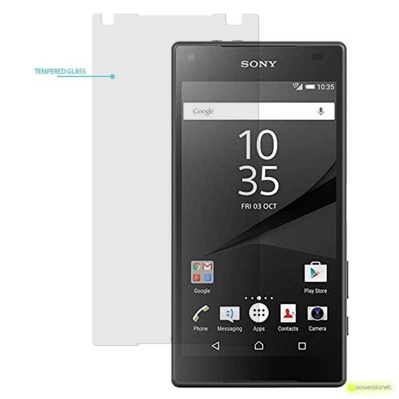 Protector Cristal Templado Sony Xperia Z5 Compact