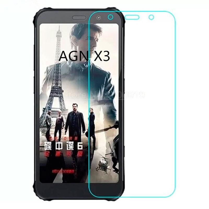 Protector de pantalla de cristal templado para AGM X3